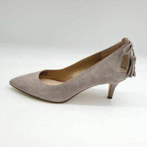 G.i.l.i Gabryelle Pump Shoes Beige Leather 8